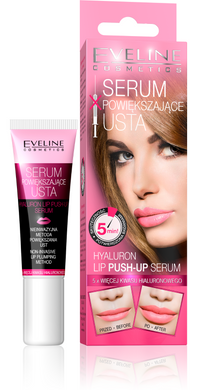 EVELINE HYALURON LIP PUSH-UP SERUM - POWI?KSZAJ?CE USTA