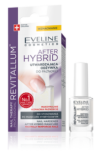 Eveline After Hybrid Manicure Nail Harder Revitalum Nail Conditioner 12ml