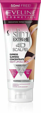 Eveline SLIM EXTREME 4D SCALPEL EXTREME FAT BURNER Night Liposuction CELLULITE