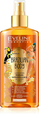 EVELINE, Brazilian Body, A luxurious self-tanning haze for the face and body