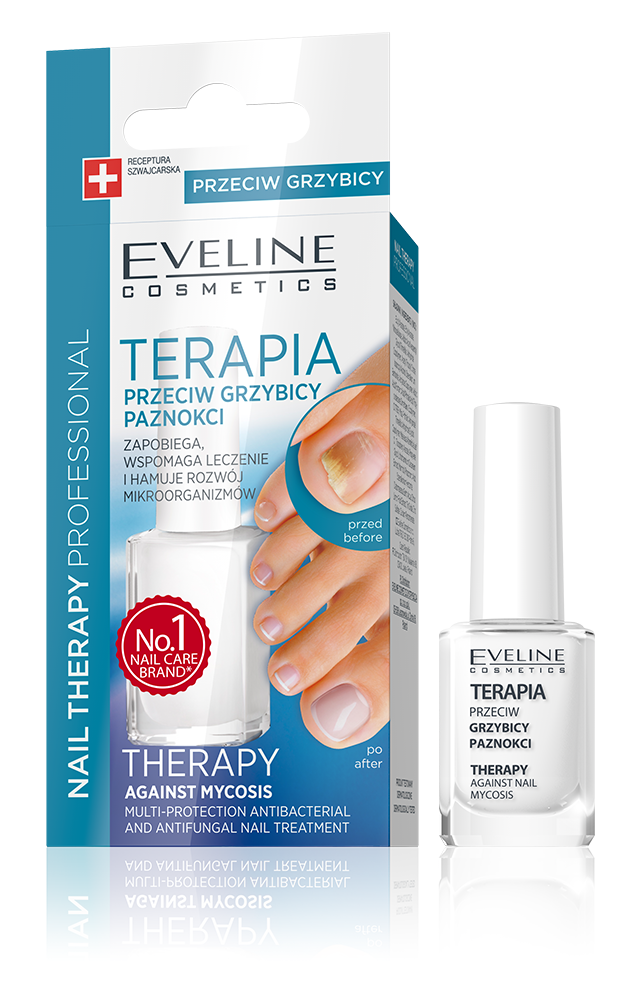 EVELINE COSMETICS PROFESSIONAL TREATMENT ANTI FUNGAL THERAPHY IN NAIL POLISH