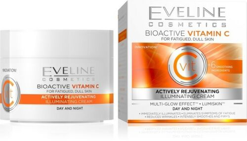 Eveline Vit C Illuminating Actively Rejuvenating Day and Night Cream 50ml