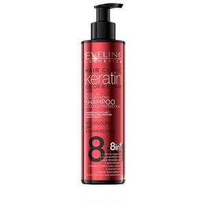 Eveline Keratin Color&Repair Shampoo 8in1 245ml