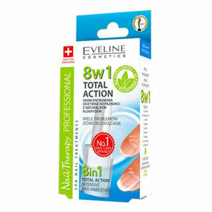 SENSITIVE Total Action NAIL THERAPY 8 in 1 Intensive Nail Hardner EVELINE 12ml