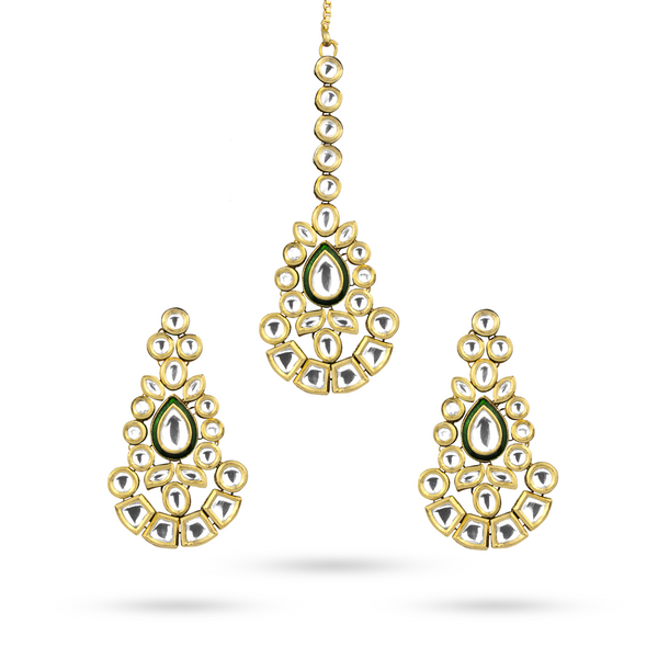 Chandni Earring Tika Set