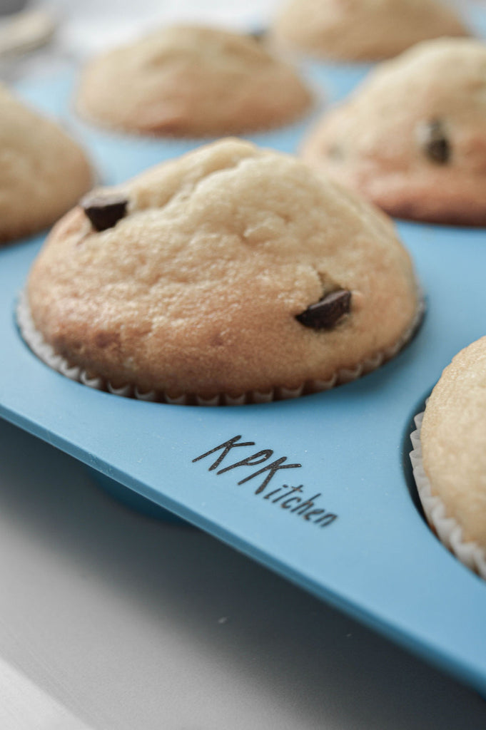 KPKitchen Silicone Muffin Pan 12 Cup