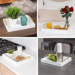 Decorative Coffee Table Tray - KPKitchen