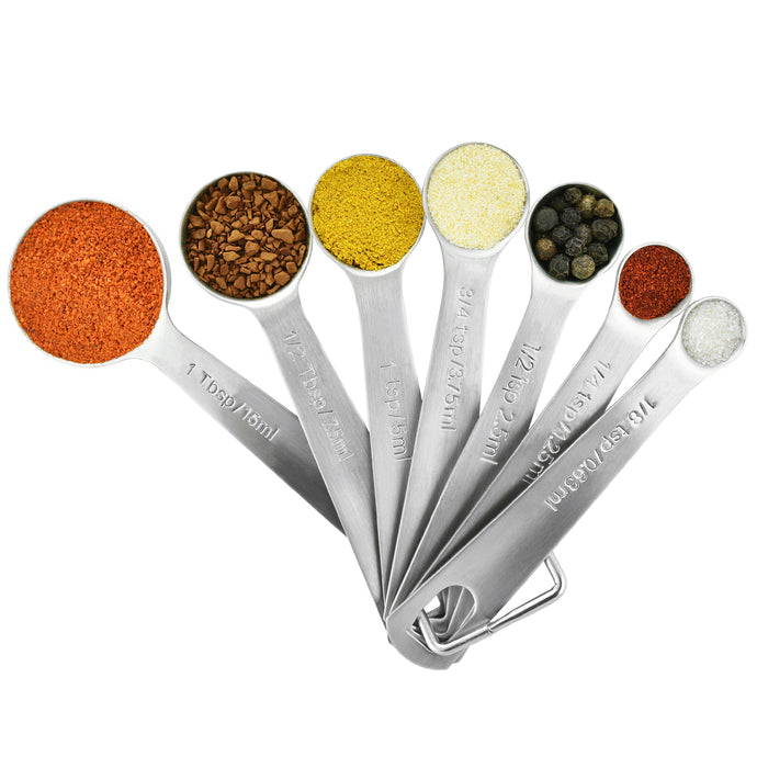 Stainless Steel Measuring Spoons Set of 7