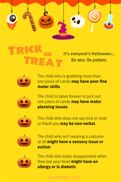 Trick or Treating Tips for an Accessible Halloween