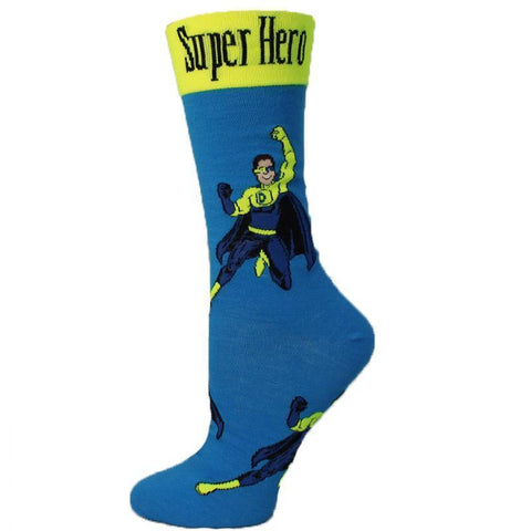 Down Syndrome Superhero Socks