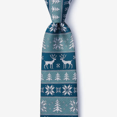 Ugly sweater christmas necktie