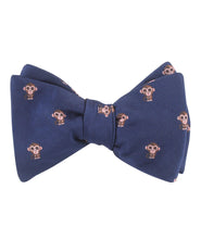 Load image into Gallery viewer, Five Little Monkeys Sittin' On a Bow Tie - Adult Size - Self-Tie