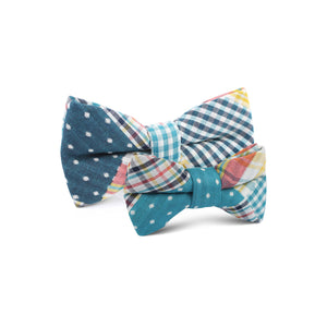 Plaid/Gingham/Polkadot - father & son matching bow ties