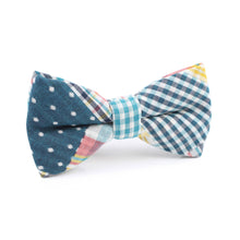 Load image into Gallery viewer, Plaid/Gingham/Polka Dot Pre-Tied Bow Tie