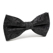 Load image into Gallery viewer, Black Tie Affair Men's Pre-Tied Silk Bow Tie