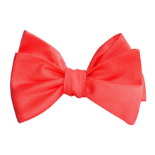 Load image into Gallery viewer, Caribbean Dreams - Coral Colored Self-Tie Bow Tie