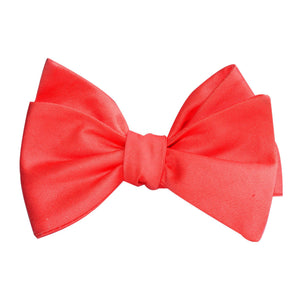 Caribbean Dreams - Coral Colored Self-Tie Bow Tie