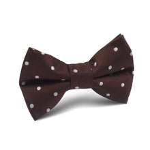 Load image into Gallery viewer, Chocolate Soufflé Bow Tie - Youth Size - Pre-Tied