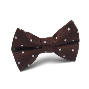 Chocolate Soufflé Bow Tie - Youth Size - Pre-Tied