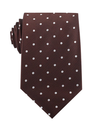 Chocolate Soufflé Neck Tie - Adult Size