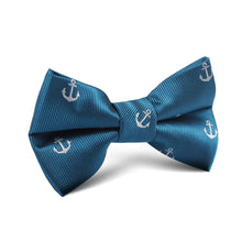 Load image into Gallery viewer, Fathoms Below Bow Tie - Youth Size - Pre-Tied