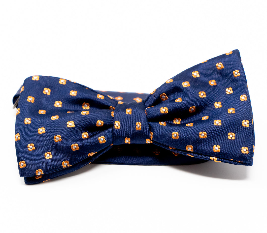 Field of Gold Bow Tie - Premium Youth Size - Pre-Tied