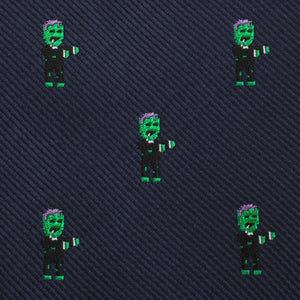 Frankenstein pocket square fabric