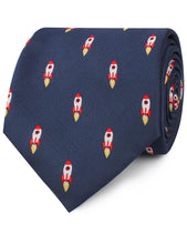 Load image into Gallery viewer, H-Bomb, We Have Liftoff! Necktie - Adult Size