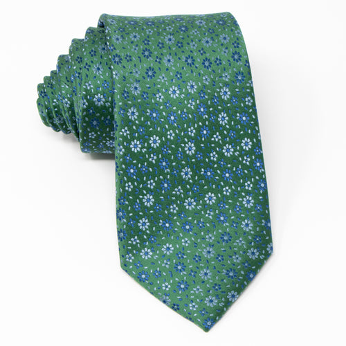 Irish Wild Flowers - Adult Size - Necktie