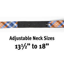Load image into Gallery viewer, Joyfully Orange Plaid - Adult Size - Self-Tie