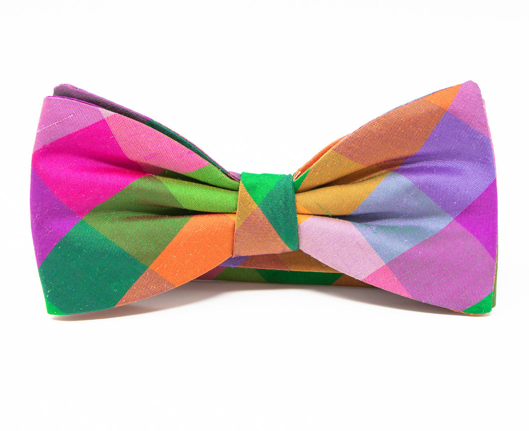 Late Summer Wedding Bow Tie - Premium Youth Size - Pre-Tied
