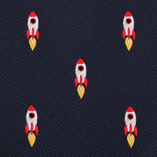 Load image into Gallery viewer, H-Bomb, We Have Liftoff! Bow Tie - Adult Size Self-Tie