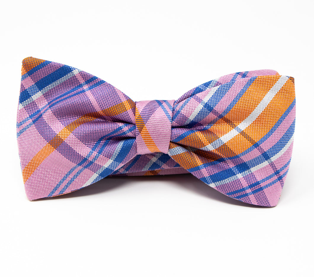 Summertime Bow Tie - Premium Adult Size - Pre-Tied