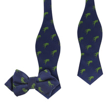 Load image into Gallery viewer, We Have a T-Rex - Father & Son Matching Tie Set