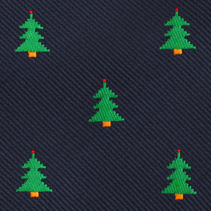 O Christmas Tree Neck Tie Fabric View