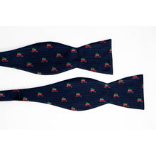 Load image into Gallery viewer, Griswold christmas tree bow tie untied view