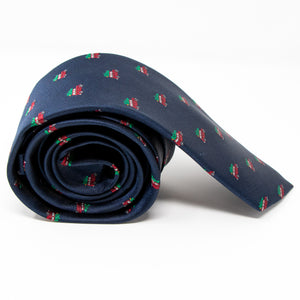 The Griswold neck tie rolled view
