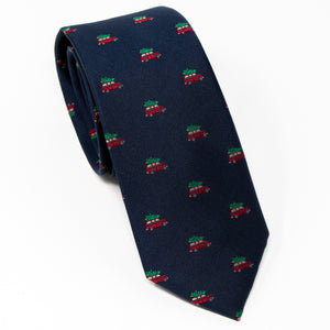 The Griswold Christmas Tree Neck Tie Front View