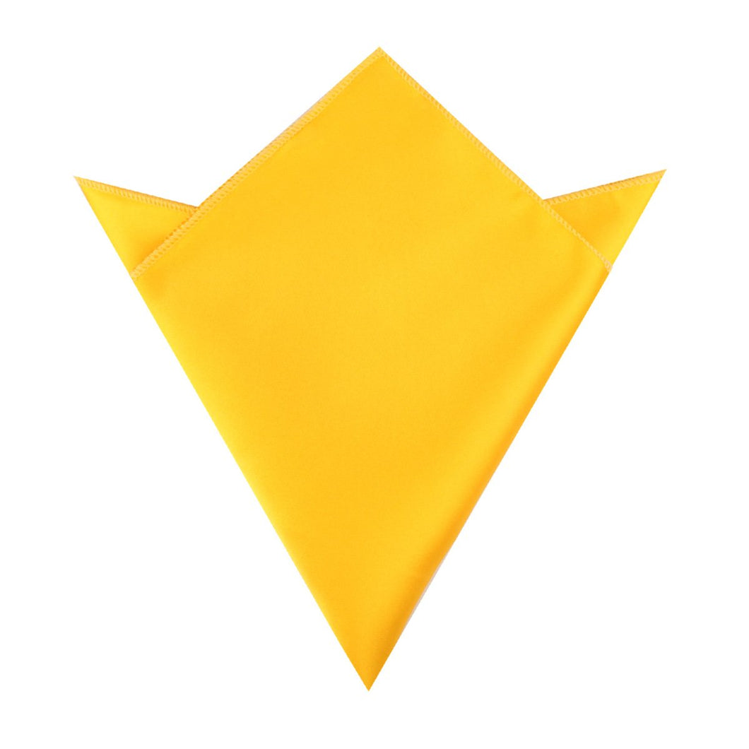 Tuscan Sunflower Yellow Pocket Square