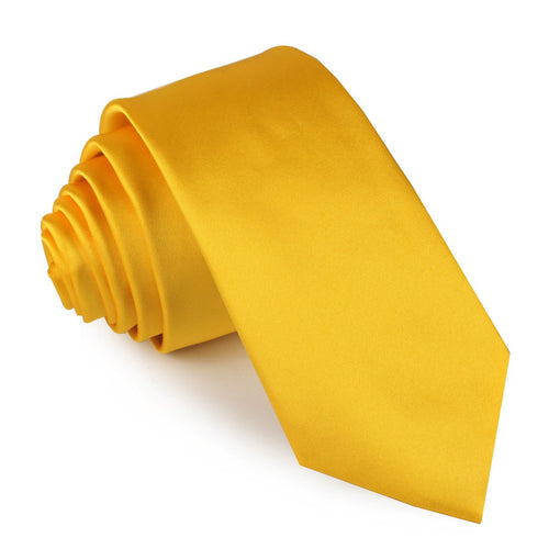 Tuscan Sunflower Skinny Tie - Adult Size