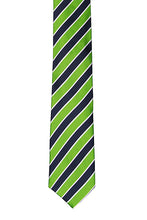 Load image into Gallery viewer, Electric Green - Necktie - Adult Size