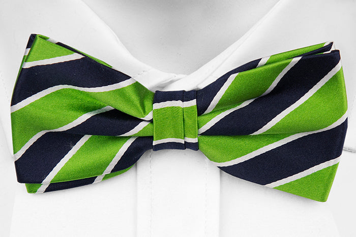 Electric Green - Adult Size - Pre-Tied Bow Tie