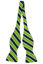 Load image into Gallery viewer, Electric Green - Adult Size - Self-Tie Bow Tie
