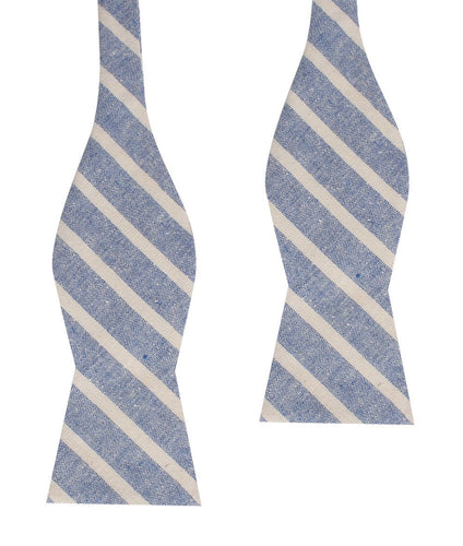 Blue Skies Bow Tie - Adult Size - Self-Tie