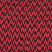 Load image into Gallery viewer, Maroon red bow tie, self-tie, herringbone pattern, fabric view