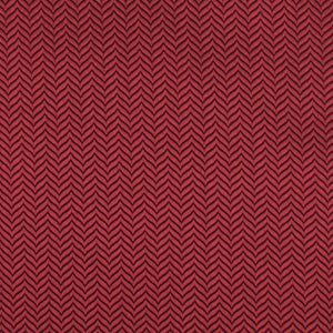 Maroon red bow tie, self-tie, herringbone pattern, fabric view