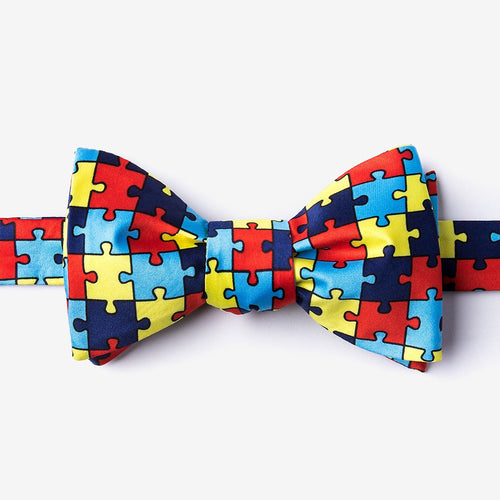 Different Not Less Self-Tie Bow Tie