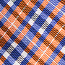 Load image into Gallery viewer, Joyfully Orange Plaid - Youth Size - Pre-Tied