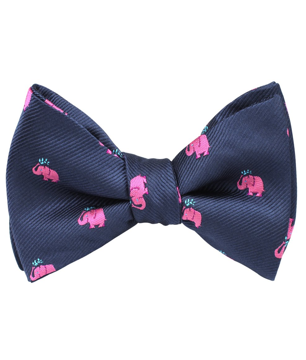 Swimming Down the River Bow Tie - Adult Size - Pre-Tied