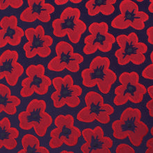Load image into Gallery viewer, Belgian Poppy Neck Tie